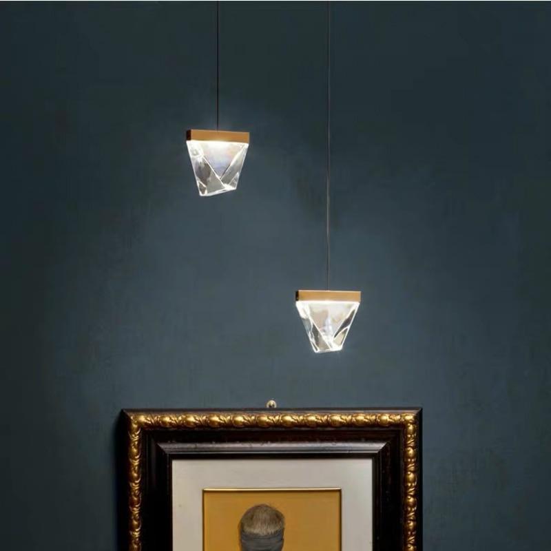 Blonche Moderne LED Wandlamp Crystal Gold Wandkandelaar Verlichting voor Slaapkamer Woonkamer Restaurant Verlichting Loft Armaturen Armatuur - 2