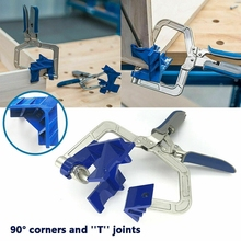 New Auto adjustable 90 Degree Right Angle Woodworking Clamp Quick Clamp Pliers Picture Frame Corner Clip Hand Tool T Clamp