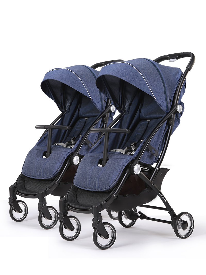 Newborn Umbrella Stroller Detachable Twins Stroller Lightweight Second Child Stroller