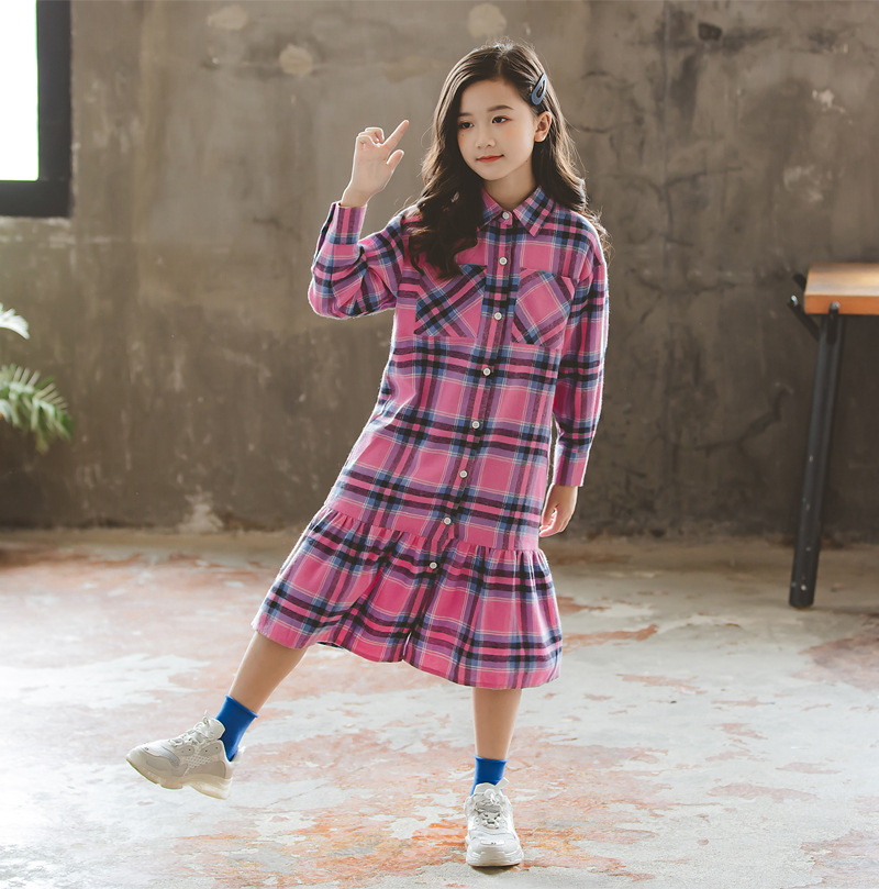algodão roupas lazer crianças bonito vestido, #5408