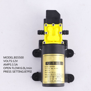 Image 5 - High Quality DC12V 6L/min Intelligence Micro High Pressure Diaphragm Water Sprayer Car Wash Agricultural Electric Water Pump