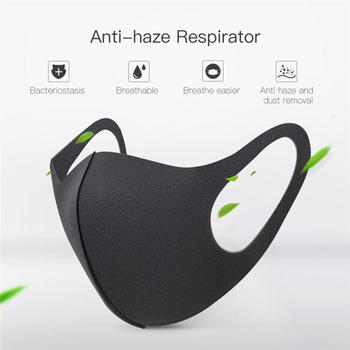 10pcs Dust Mask Anti-Fog Anti Dust Flu Air Filter Dustproof Face Mouth Warm Masks Healthy Antivirus Antibacterial Protective