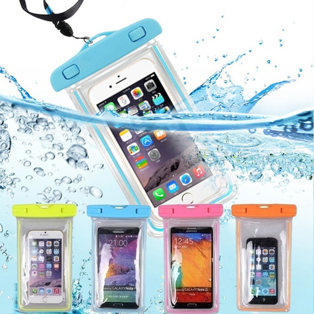 Waterproof Phone Pouch Drift Diving Swimming Bag Underwater Dry Bag Case Cover For Phone Water Sports Beach Pool Skiing 6 inch 1