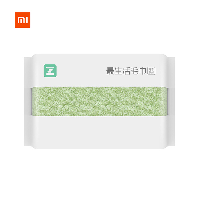 New XIAOMI MIJIA ZSH Square Towel Youth Series 100% cotton strong water absorbent antibacterial baby adult face Wash