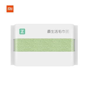 Image 1 - Nowy XIAOMI MIJIA ZSH ręcznik kwadratowy z serii młodzieżowej w 100% bawełna wody silne antybakteryjne chłonne dziecko dorosłych do mycia twarzy