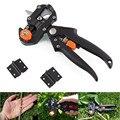 Garten Werkzeuge Pfropfen Pruner Chopper Impfung Schneiden Baum Gartengeräte mit 2 Klinge Anlage Schere Scissor Dropshipping