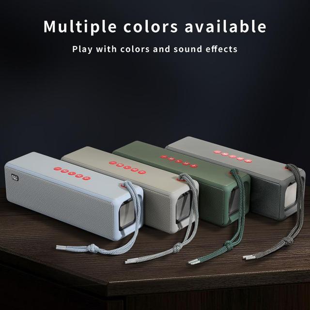 TG271 High Power Soundbar Music Center Wireless Sound System Portable Bluetooth Speaker HiFi Subwoofer For Computer Speakers 3