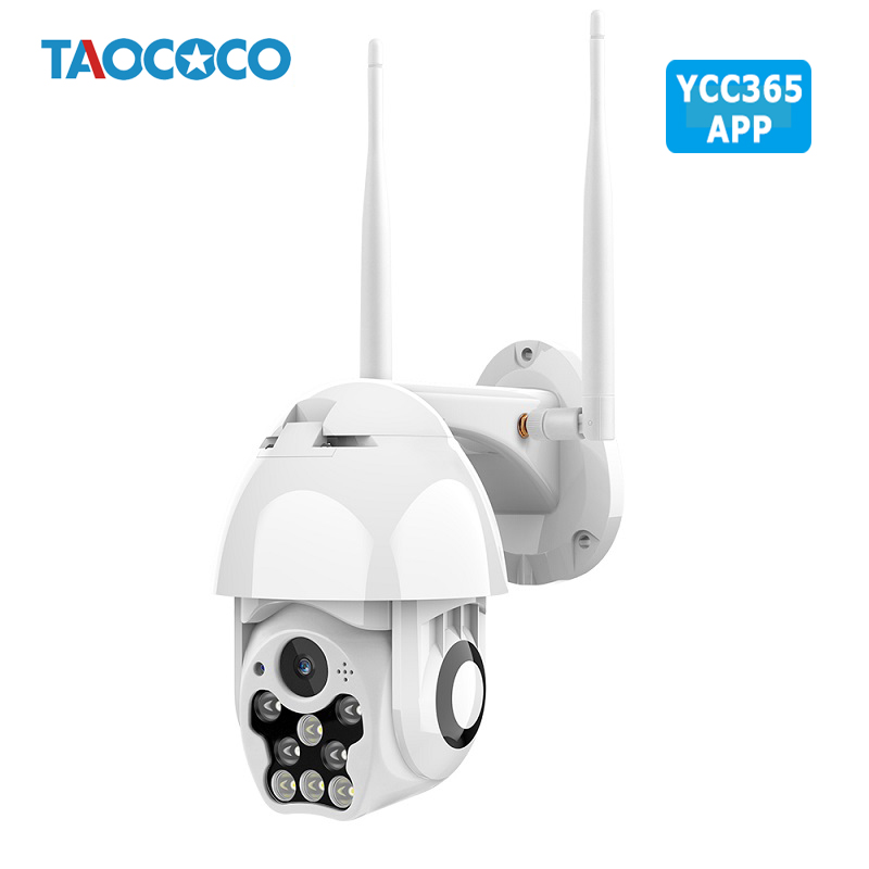 1080P HD Waterproof Outdoor Camera WIFI Auto Tracking Speed Dome Security Camera Wireless Infrared 4X Zoom IP Camera CCTV YCC365