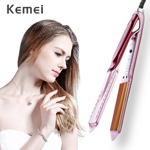 Tourmaline Ceramic Hair Curler Fast Heating Corrugated Curling Iron Household DI
