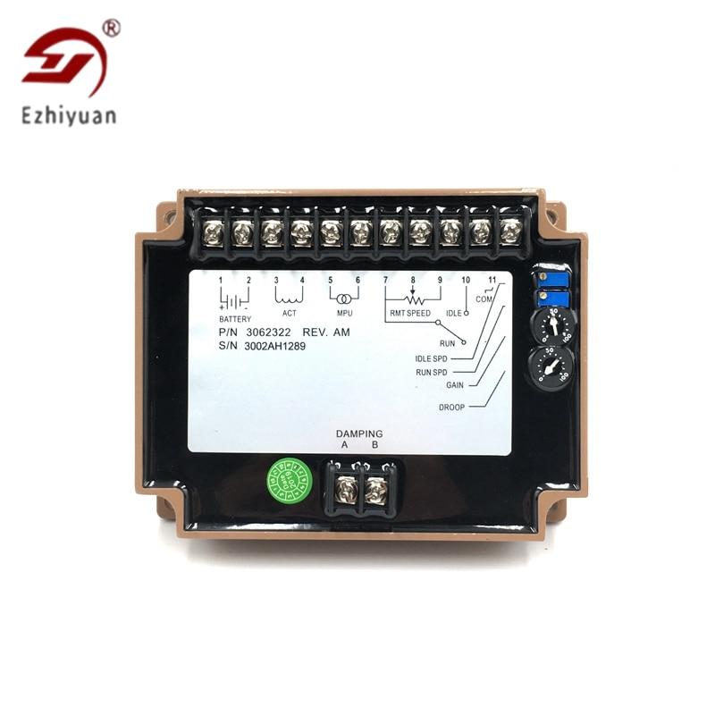 Ezhiyuan 3062322 Engine Controller Governor Speed Control Unit 3062322 Genset Parts