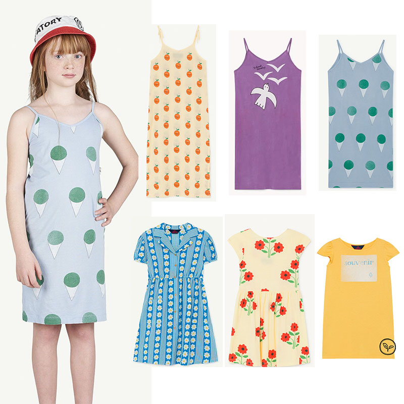 2020 TAO Kids Clothes For Summer Child Fashion Brand Sling Dress Long Ankle Dresses Toddler Girl TAO Summer Clothes Flower Print