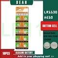 10 шт., щелочные батарейки AG10 LR1130, AG 10 SR54 1,55 189 SR1130 L1131 G10A
