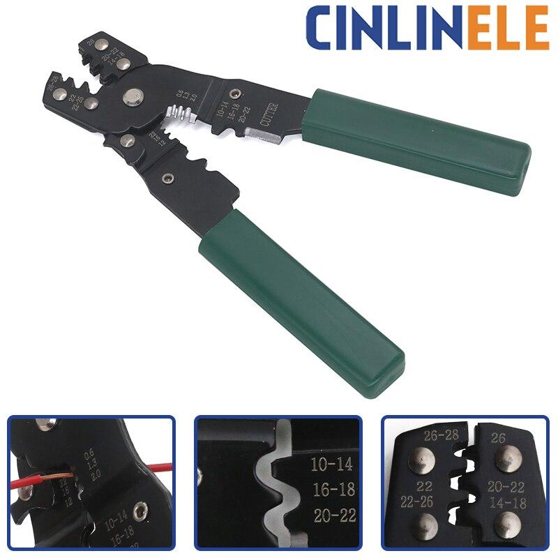Многофункциональные мини-плоскогубцы 180 мм 7 дюймов, щипцы для зачистки, обжимные инструменты для зачистки, изоляционные трубные клеммы DuPont