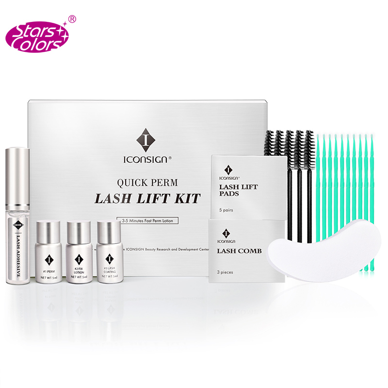 Iconsign Quick Perm Lash Lift Kit Eyelash Perming Set New Version With Fast Perm Lotion Cilia Beauty Makeup