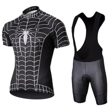 2019 Marvel Heros Spider Man Cycling Jersey Set 9D Bike Shorts Ropa Ciclismo Mens Summer Quick Dry Pro Maillot
