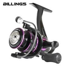 BILLINGS Fishing Reel KD1000-6000 Max Drag 10kg Reel Fishing 5.0:1/4.7: 1 Metal Spool Spinning Reel Saltwater Reel CNC Rocker
