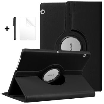 Funda giratoria 360 para Huawei MediaPad T5 10 AGS2-W09/L09/L03 10,1 Funda soporte...