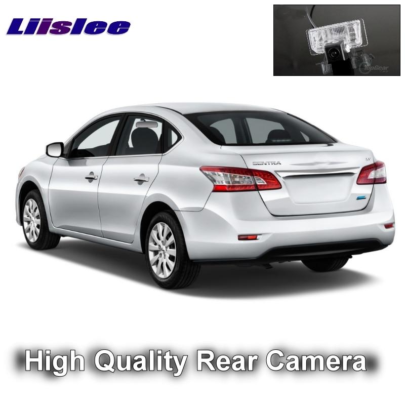 LiisLee Car Reversing Image Camera For Nissan Sentra Pulsar Sylphy 2013~2020 Night Vision HD WaterProof Rear View Back Up CAM