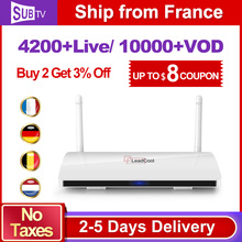 IPTV STB 1G/8G Android TV Box with HD 3500+ Live Channels IPTV Account French Arabic Europe Subscriptions 1 year Media Player цена в Москве и Питере