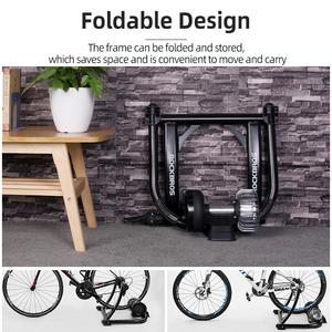 Image 5 - ROCKBROS Bicycle Trainer Roller Indoor Bicycle Exercise Silent Liquid Resistance Bike Trainers Fintness Stand Cycling Parts
