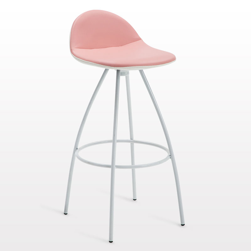 Bar Chair  PU Chair Metal Chair High Stool Modern Minimalist Style Multiple Choices Essential In The Home People Love