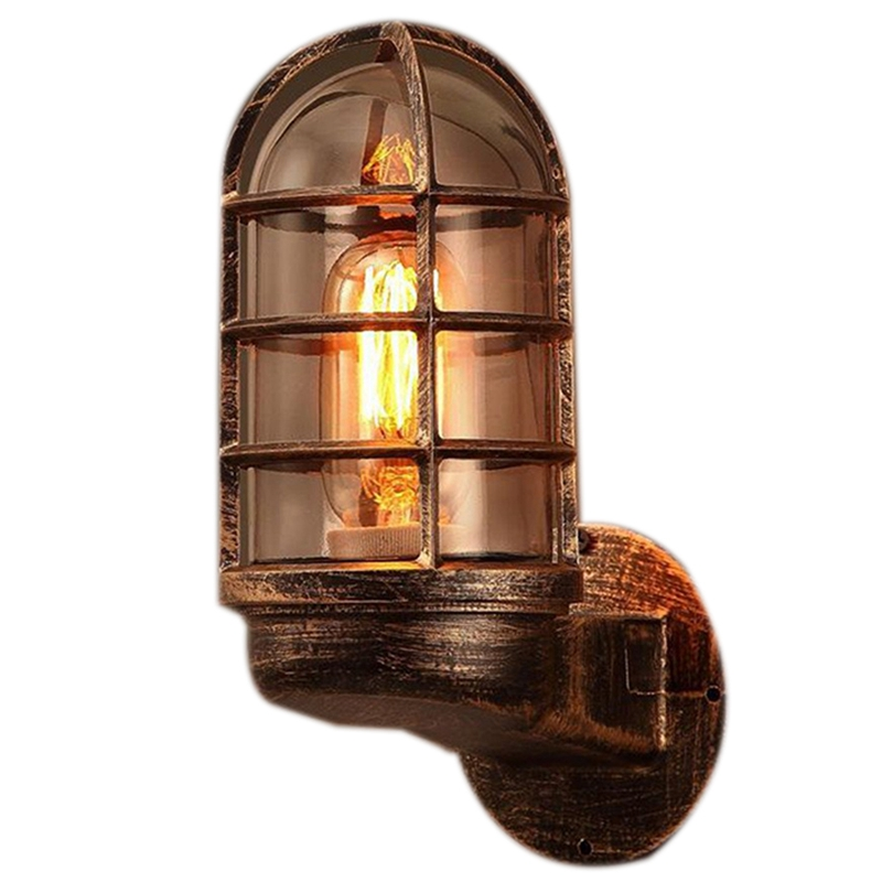 Retro Industrial Unique Wall Lanterns Wall Lamp Attic Lighting Modern Indoor Lighting Wall Lamp