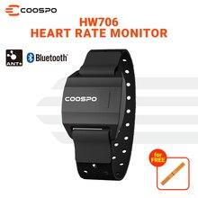 CooSpo HW706 Herz Rate Monitor Armband Bluetooth 5.0, ANT + IP67Waterproof Laufen Outdoor Radfahren Für GarminWahoo BikeComputer