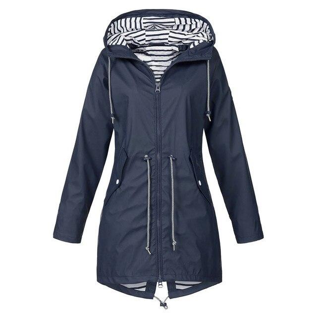 Sundried Ligera poco voluminoso Ejecuci/ón de la chaqueta de lluvia
