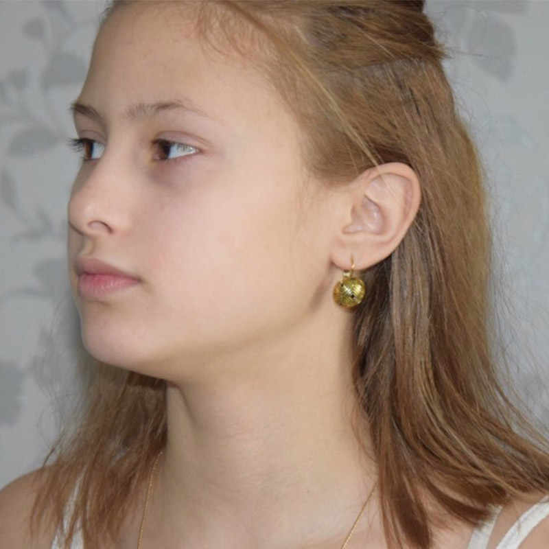 Shineland Vintage trendy bijoux-Drop kolczyki moda geometryczne okrągłe kolczyki dla kobiet styl Boho Party biżuteria