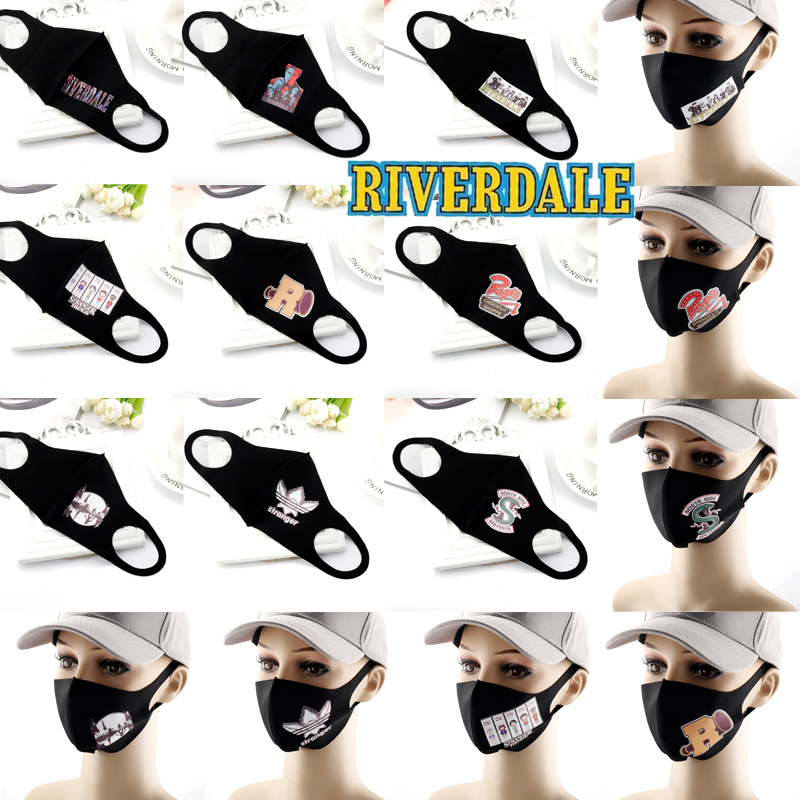 RIVERDALE Cartoon Printed Masks Reusable Anti Pollution Face Shield Mask Dustproof Breathable Masque Mask