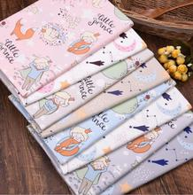 Prince DIY Sewing Patchwork Quilting Fat Quarter Tecido Clothes Tilda For Gril Dress Sheet Textiles New Twill 100% Cotton Fabric