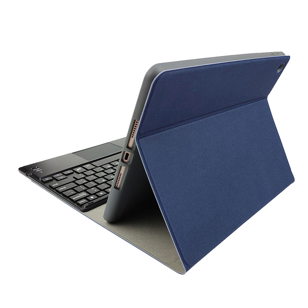 Bluetooth Keyboard-Stand iPad with Detachable Pen-Slot Cover For Funda-Case Generation