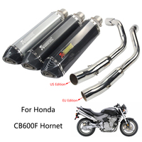 Exhaust System for Honda CB600F Hornet Motorcycle Header Pipe 51 mm Silencer 470 mm Exhaust Muffler Pipe Slip On EU US Edition