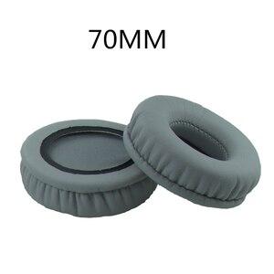 Image 4 - ペア70ミリメートル耳クッション交換イヤーパッド耳カップソニーMDR V150 V250 V300 V100 V200 V400 DR BT101 ZX100 ZX300ヘッドフォン
