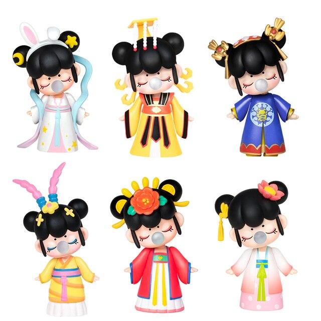Robotime caja ciega East Asia Palace Action Unboxing Toys figura modelo muñecas exótico regalo especial para niños, niños, adultos