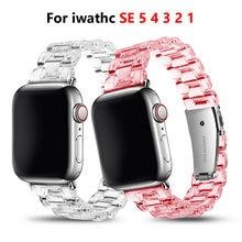 Ремешок для часов apple watch band series 1 2 3 4 5 прозрачный