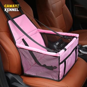 Travel Dog Car Seat Cover Folding Hammock 1