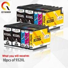 Compatível Para HP 932 933 932XL 933XL Cartucho de Tinta Para HP Officejet 7110 6100 6600 7510 7512 7612 7610 7612 Printer