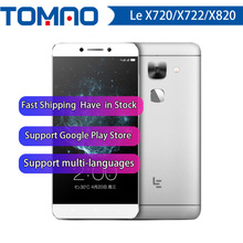 Original letv leeco le max 2 x820/le pro 3 x720/x722 android 6.0 4g lte smartphone celular touch id apoio google playstore