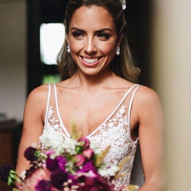 Bohemian-Wedding-Dress-2019-Sleeveless-V-Neck-Lace-Open-Back-Unique-Romantic-Backless-Boho-Beach-Bridal (2)