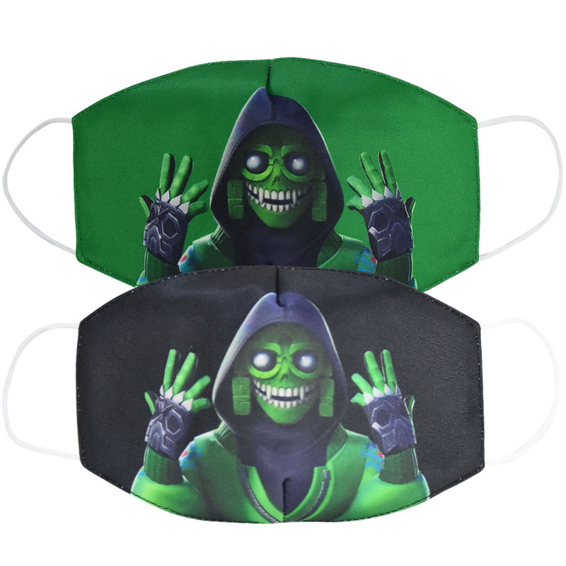 2020 Unisex Mouth Mask Adult Kids Cartoon Face Cover Half Breathable Warm Cotton Windproof Anti-Dust Masks ZXT222