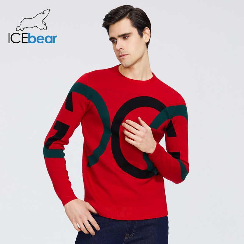 Icebear 2020 nova camisola masculina de alta qualidade vestuário masculino outono roupas masculinas 1815
