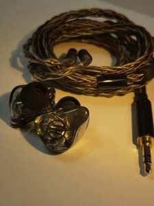 BGVP HIFI Earphone Drivers Headset Knowles Ear-Monitors IEM Customize Two-Cable Sonion
