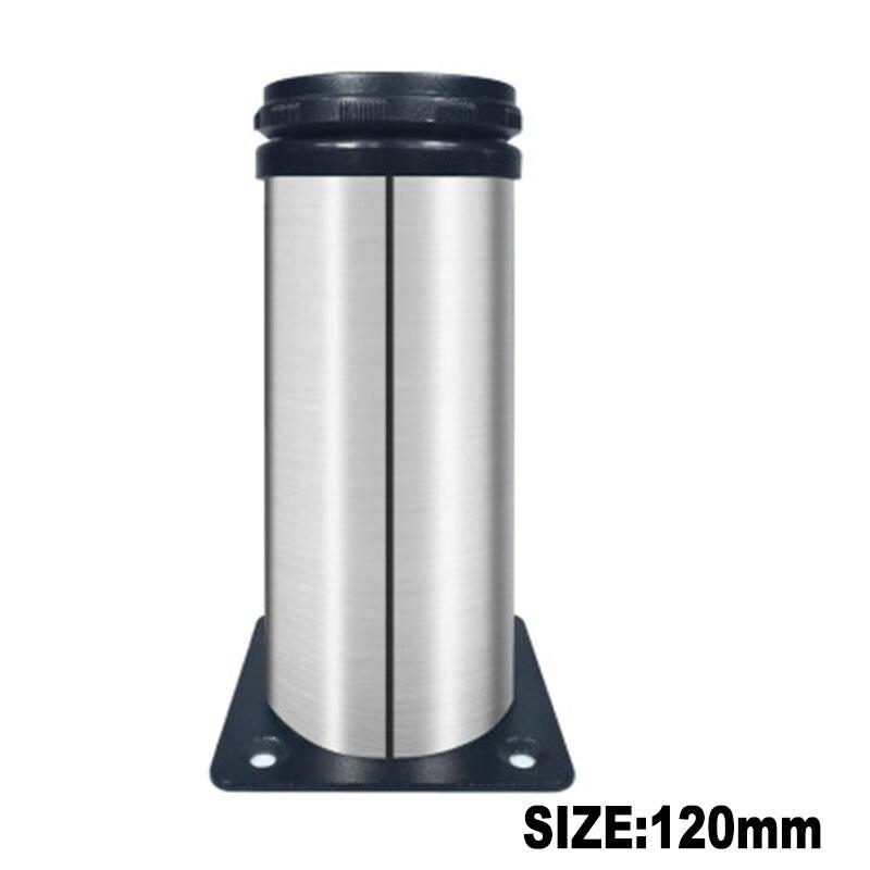 1xHome Stainless Steel Rustproof Furniture Sofa Cabinet Protector Foot Legs Sale