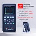 Цифровой осциллограф + генератор сигналов + мультиметр портативный USB 2 канала 40 МГц 70 МГц цвет подсветки дисплей измерительный прибор инстр...