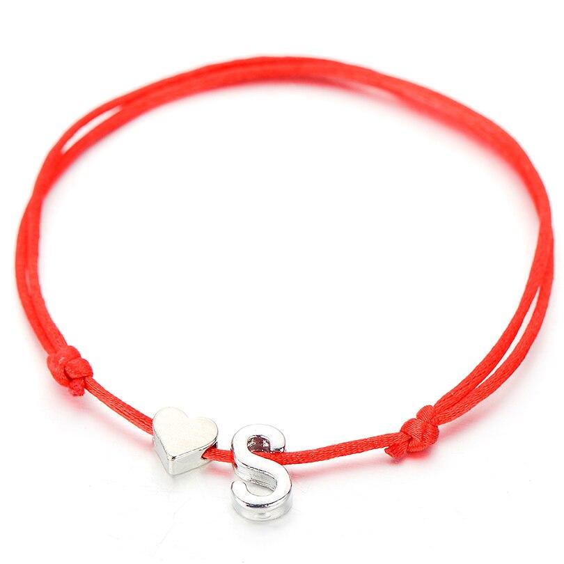 Ювелирные изделия IYOE в виде крошечного сердца для женщин и мужчин, парные регулируемые детские браслеты, Детские Подарочные винтажные букв...