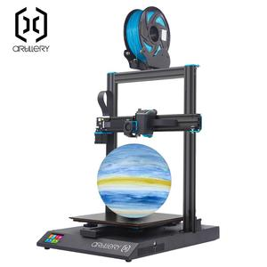 Artillery Sidewinder V4 Newest Model 95% Pre-Assembled 300x300x400mm, Reset Button Dual Z Axis Ultra-Quiet Printing SW-X1(China)