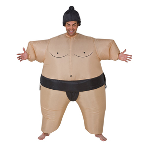 Image 3 - 2 Colors Adult Inflatable Sumo Cosplay Costume Halloween For Men Women Fashion Performance Dropshipping