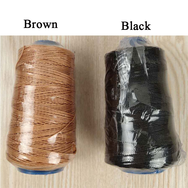 Black Brown Sewing Threads Durable Strong Bounded Nylon Leather Sewing Waxed Thread for Craft Repair Shoes Tool Accessories E in Sewing Tools Accessory from Home Garden