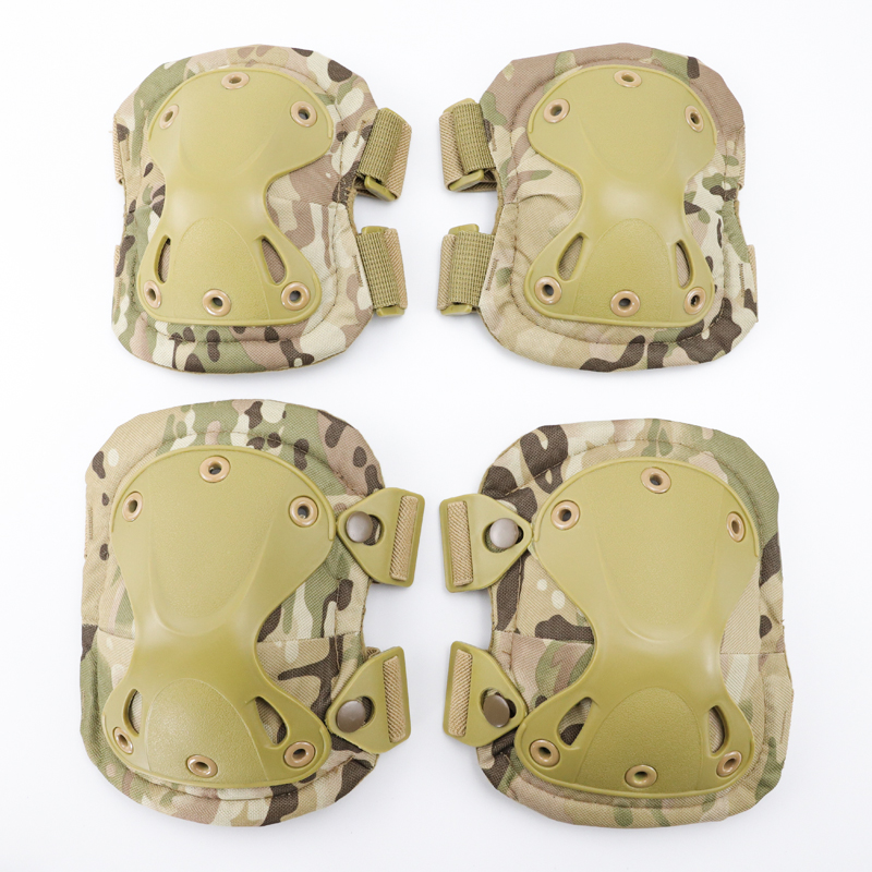 Military KneePad Elbow Pads Tactical Army Airsoft Outdoor Knee Elbow Sport Safety Protector Combat Hunting Skate Gear Kneecap